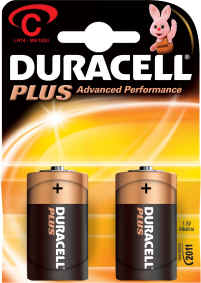 Duracell Plus C MN1400 Battery