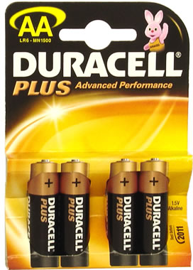 Duracell Plus AA MN1500 Battery